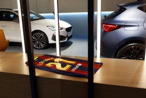 Seat cupra garage automotive
