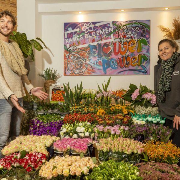 Bloemiste Patty Kames over het Ondernemers Portaal Den Haag