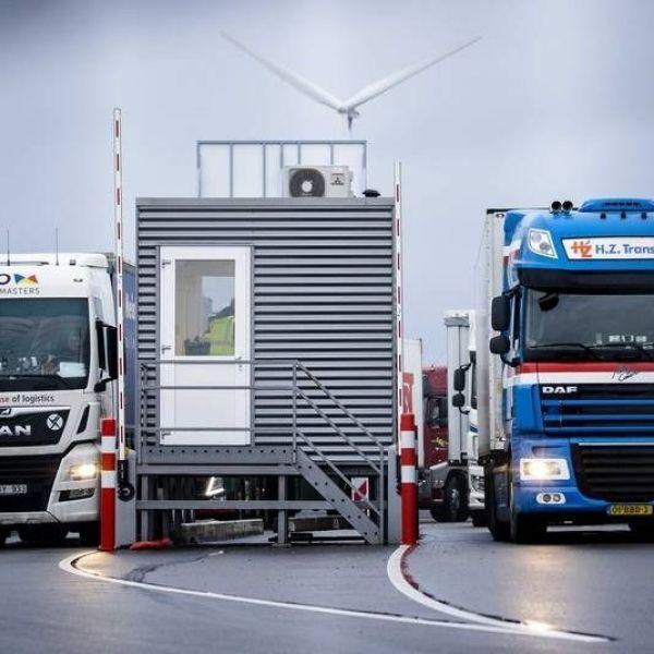 Brexit en vrachtwagens