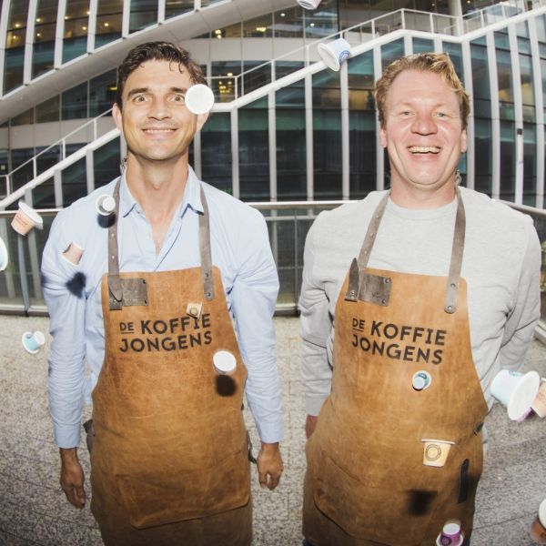 De Koffie Jongens Walter Corne