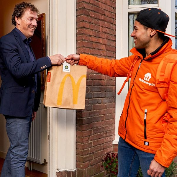 Mc Delivery Mc Donalds Thuisbezorgd