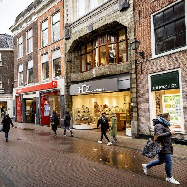 Retail winkels winkelstraat binnenstad I Nretail omzet cijfers corona economie