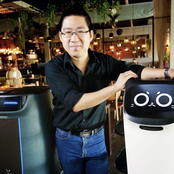 Robot Food Explorer Deon Poon