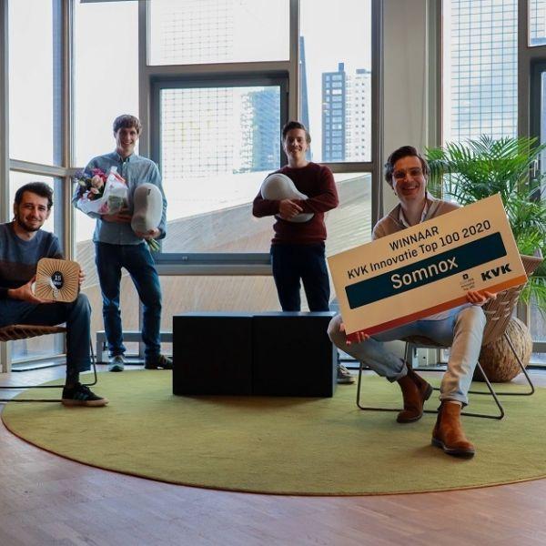 Somnox winnaar innovatie top 100 julian jagtenberg
