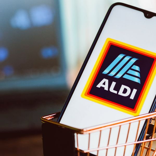 Aldi retail kassa supermarkt