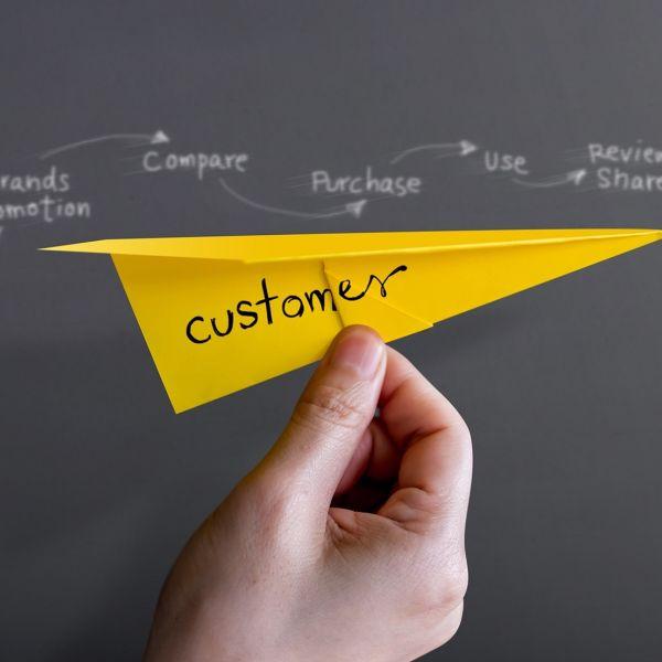 Customer journey klant ondernemer