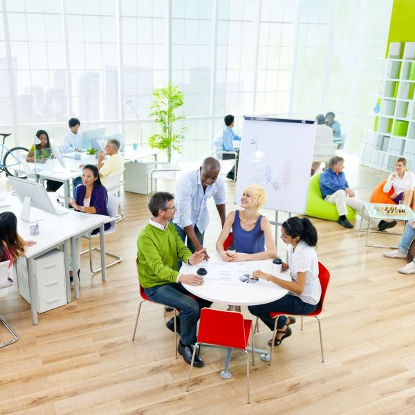 Diversiteit werkvloer kantoor