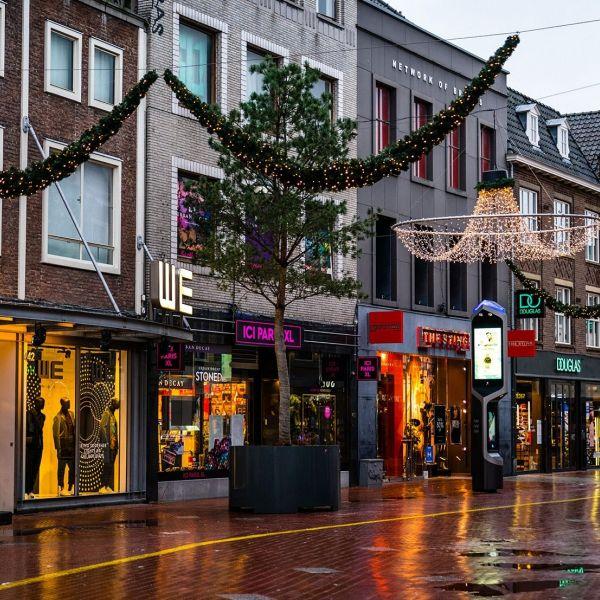 Eindhoven lege winkelstraat lockdown