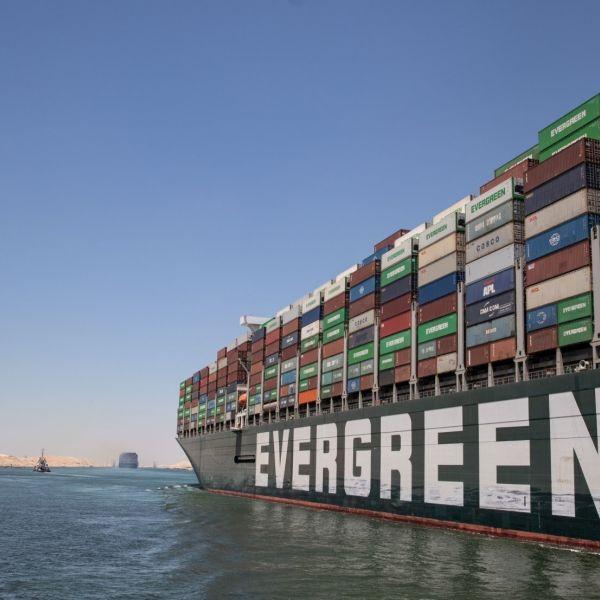 Evergreen blokkade suezkanaal
