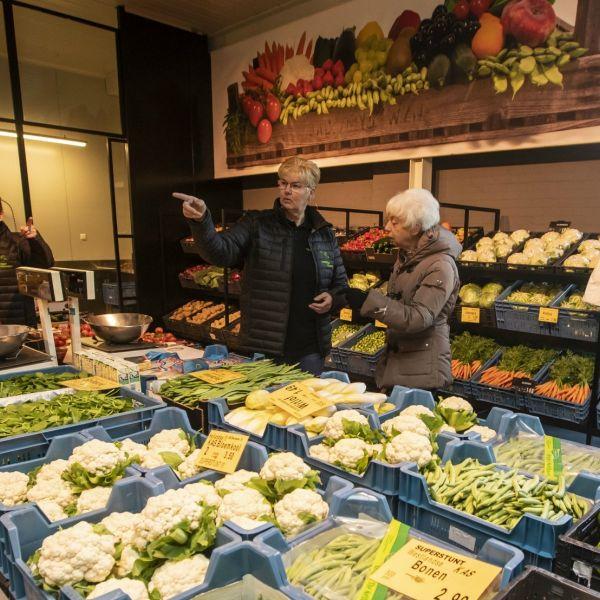 Geheim groenteboer overleeft