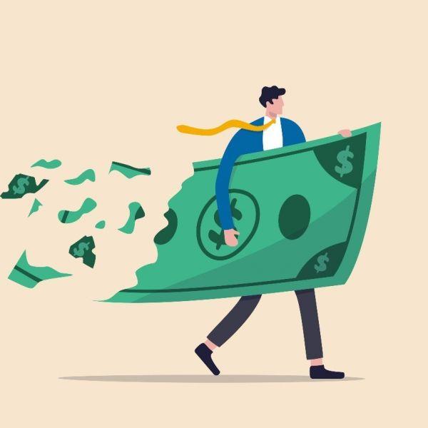Geld bank failliet dollar