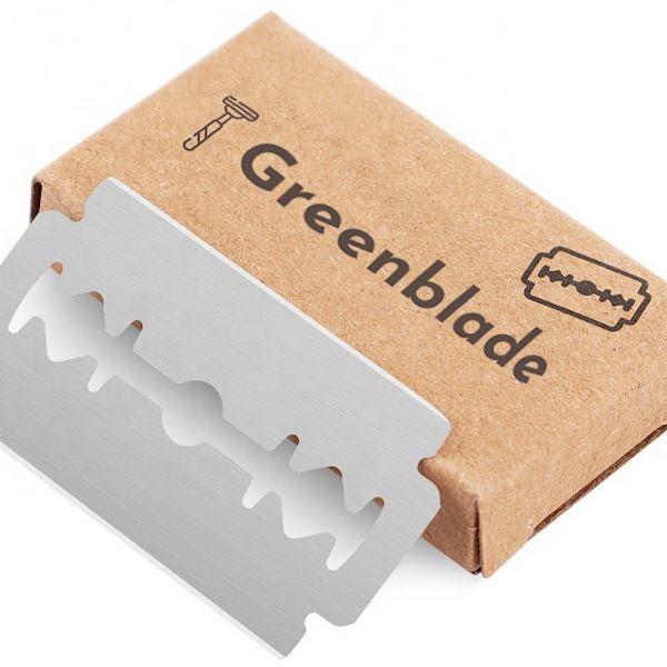 Greenblade scheermesjes Marnix Reijntjes