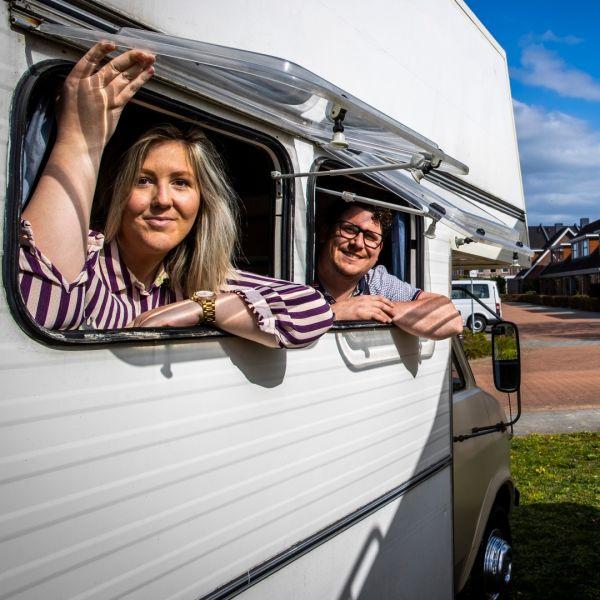 Grid camper verhuur dries vakantie