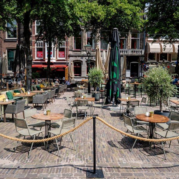 Horeca panden leegstand zaak ondernemers coronacrisis lockdown cafe restaurant te koop CBS