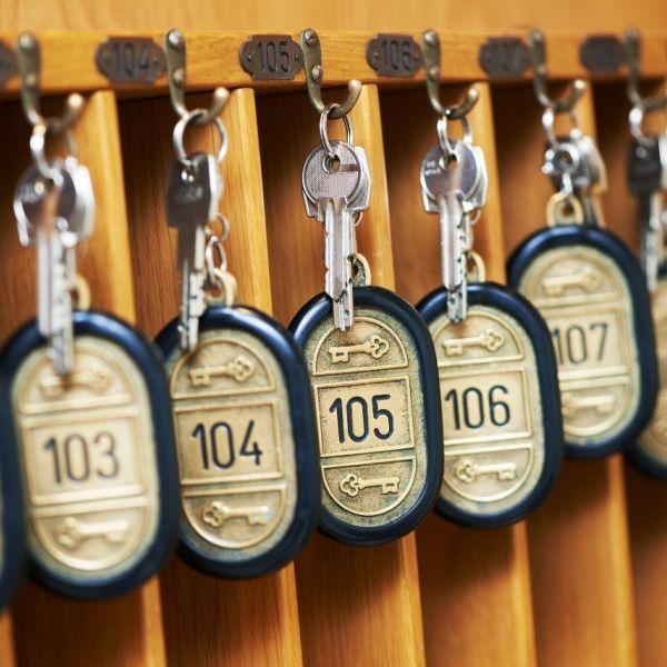 Hotel kamer sleutel