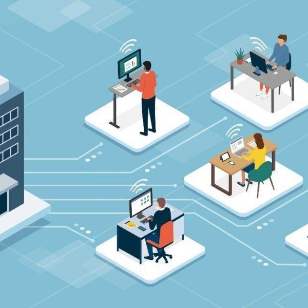 Hybride flexibel werken thuiswerken personeel