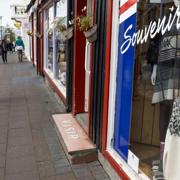 Ijsland winkel straat hans van tellingen retail