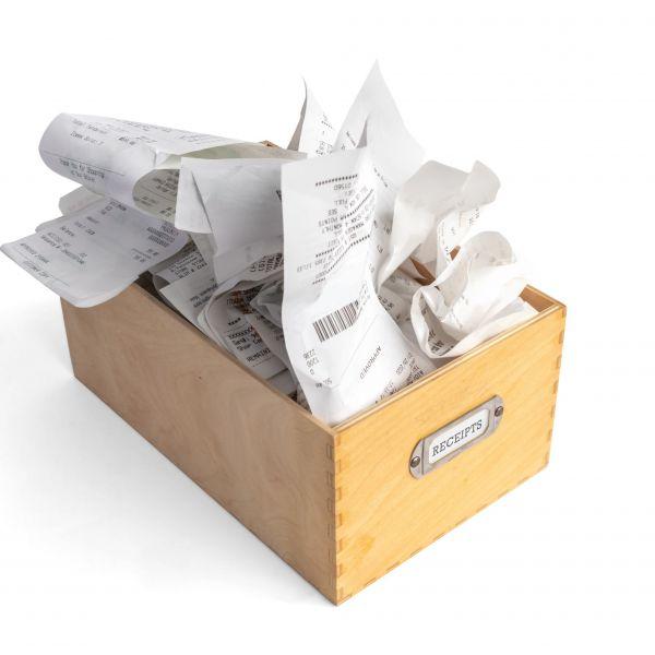 Kassabonnetjes papier