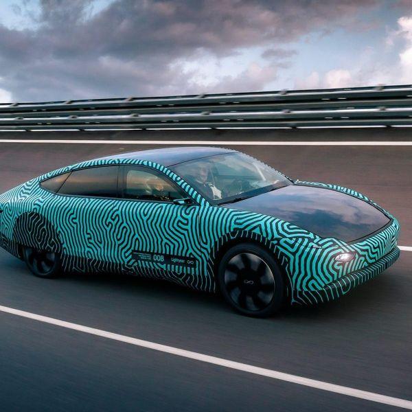 Lightyear one prototype car auto helmond