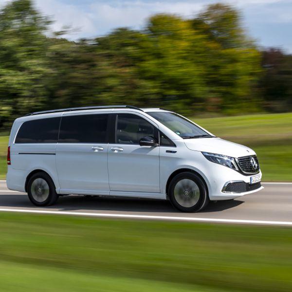 Mercedes eqv elektrische auto
