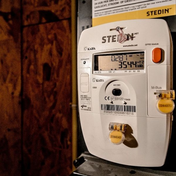Meterkast energie failliassement
