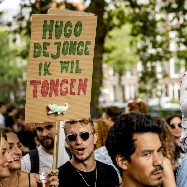Protest unmute us