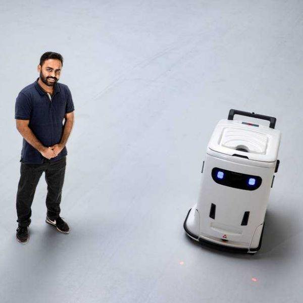 Schoonmaakrobot bixi