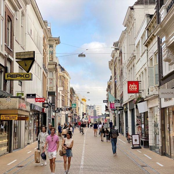 Winkelstraat herestraat groningen vantellingen retail