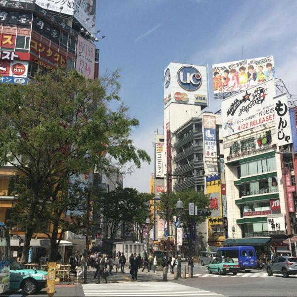 Winkelstraat japan coronavirus