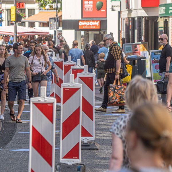 Zwolle winkelstraat corona