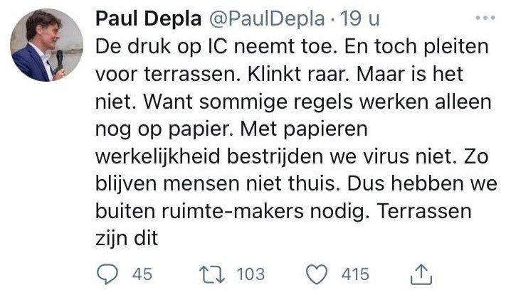 Paul depla breda terrassen twitter