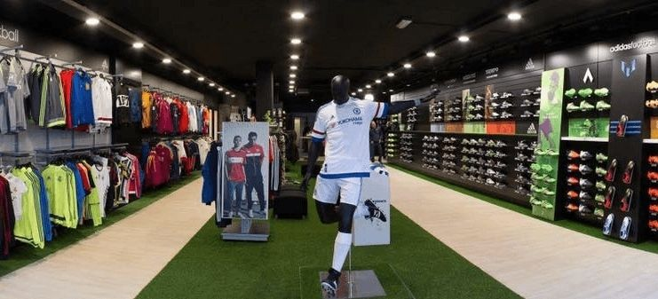 Voetbalshop winkel arnhem