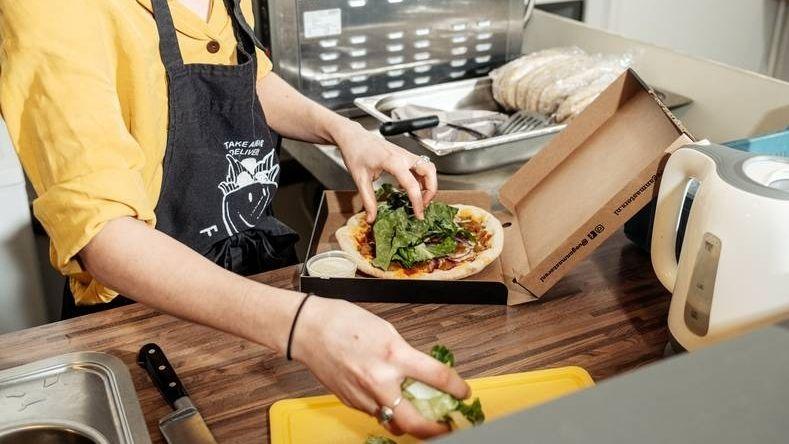Maaltijdbezorging dark kitchen vegan masters falafellow