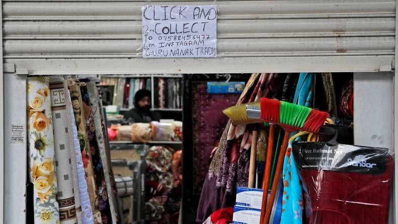 Verkoper engeland afhaalloket onvrede