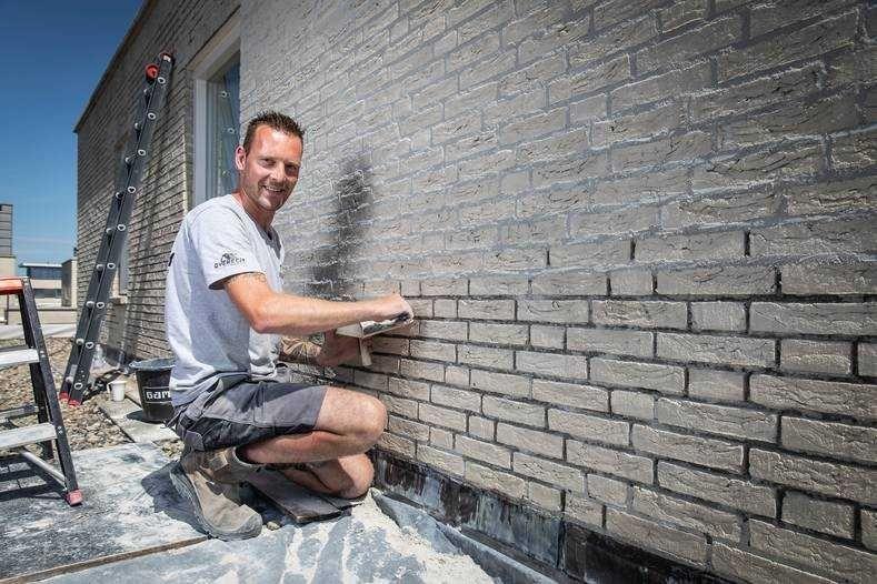 Schoonmaakbedrijf muur schoonmaken