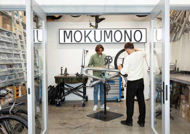 MOKUMONO ondernemers fietsen
