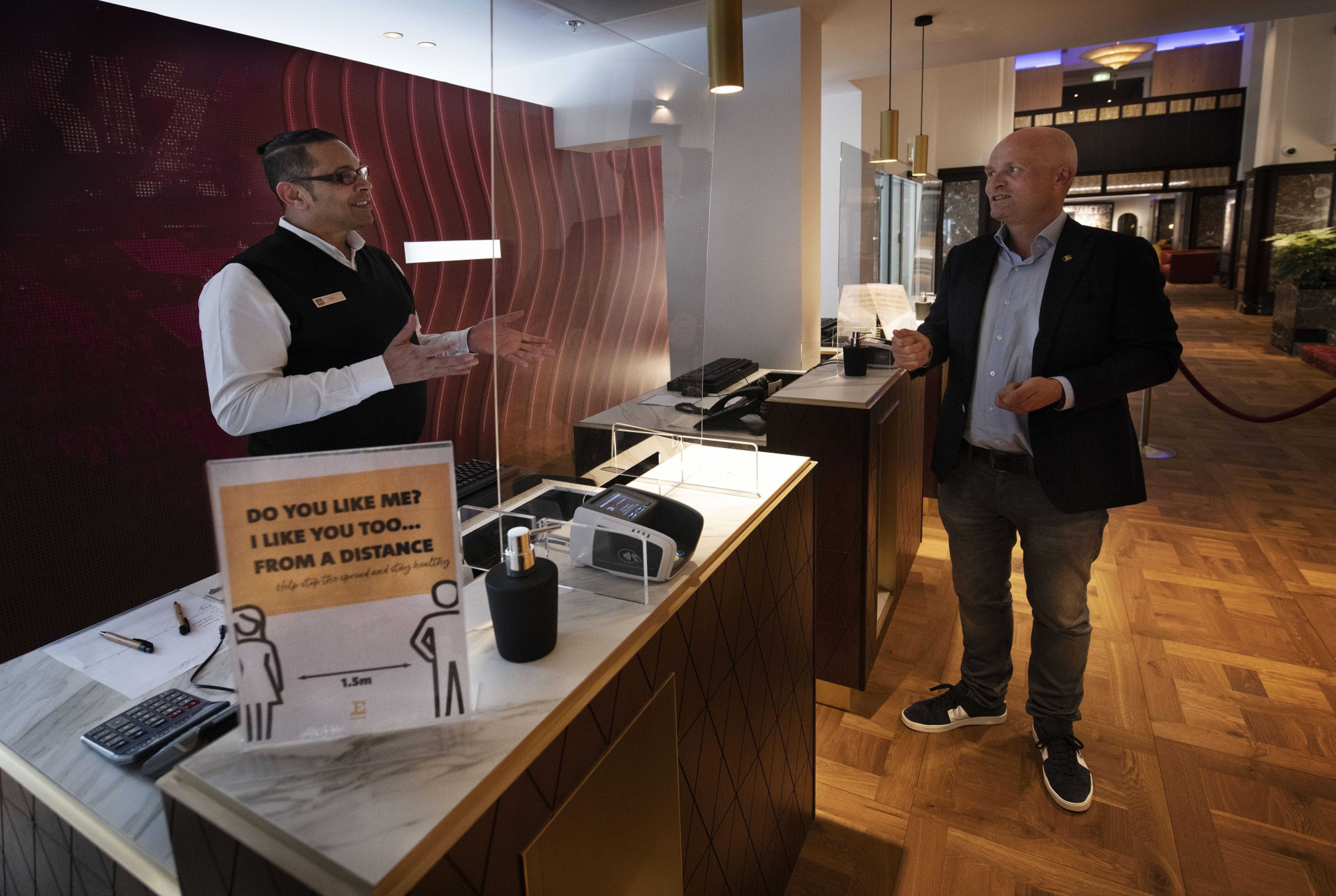 Leon Dijkstra Eden Hotels corona