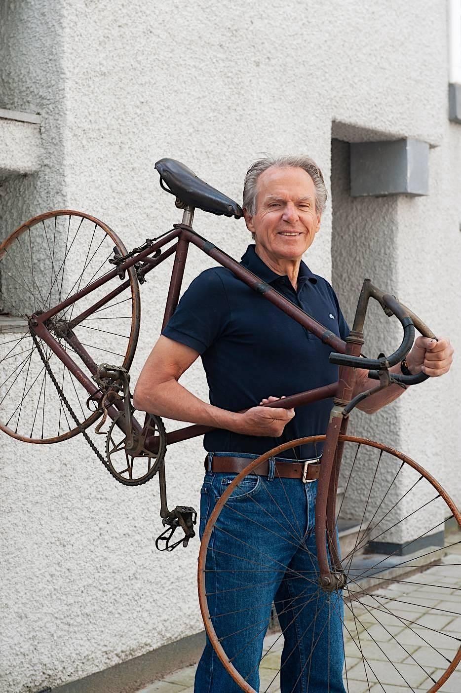 Andre Stuyfersant RIH racefiets sport fietsen jubileum 100 jaar