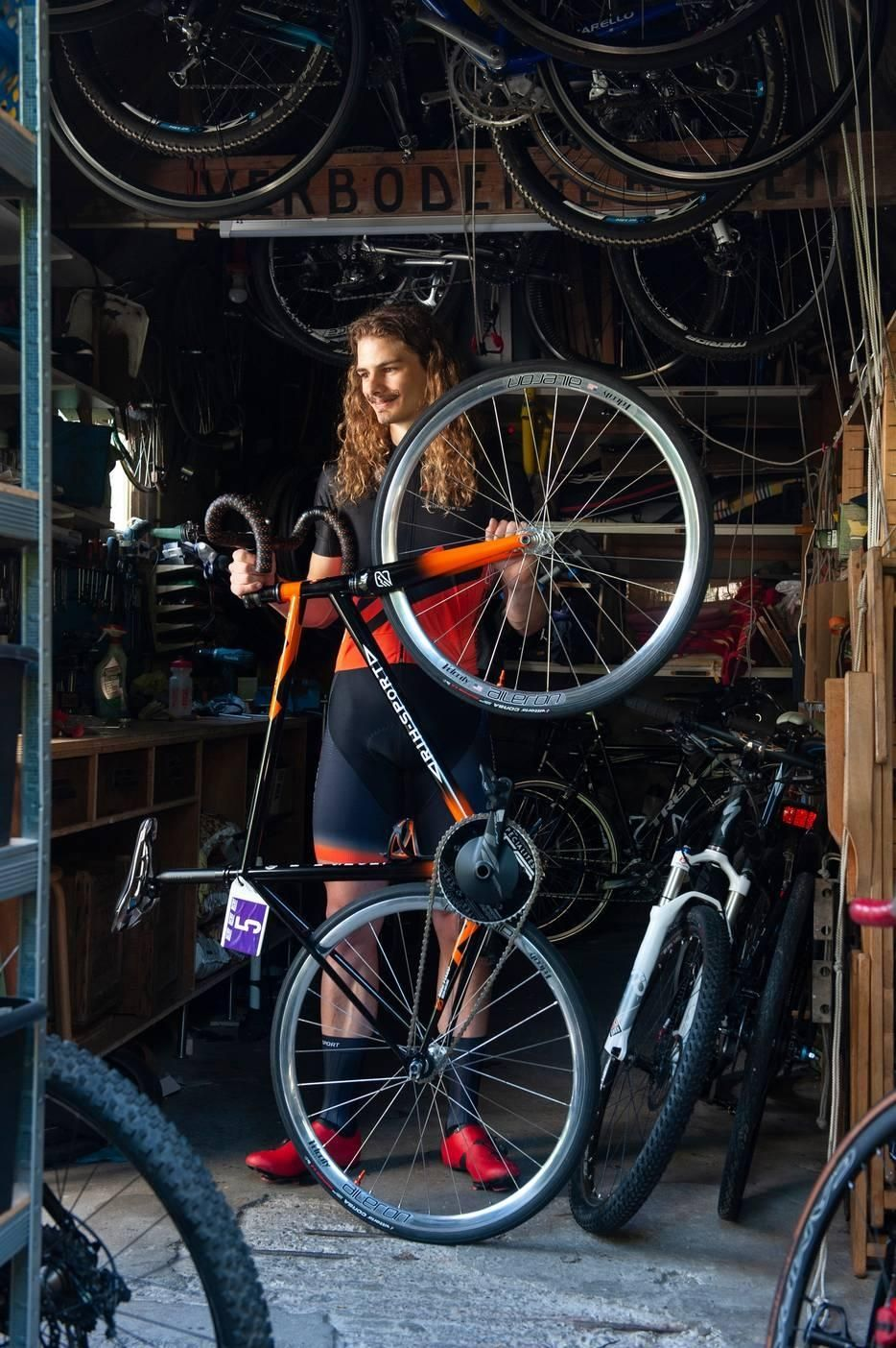 Michael den Toom RIH racefiets fietsen Amsterdam 100 jubileum