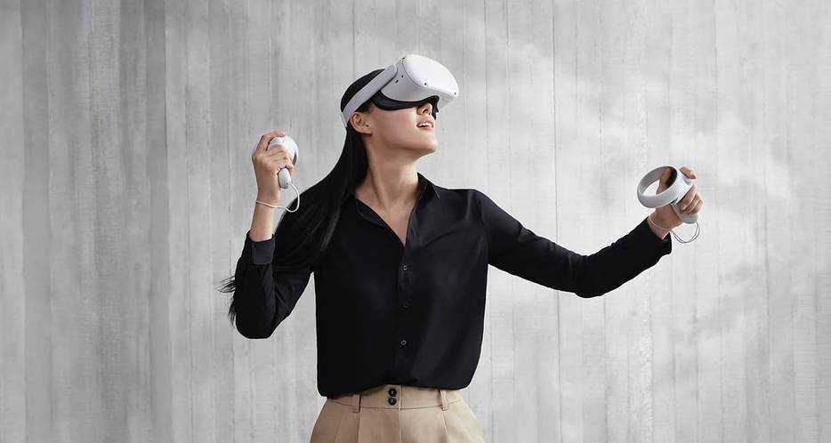 Oculus quest virtual reality