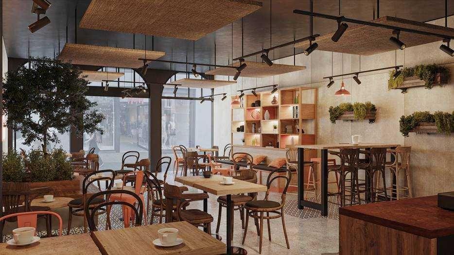 Copper branch restaurant