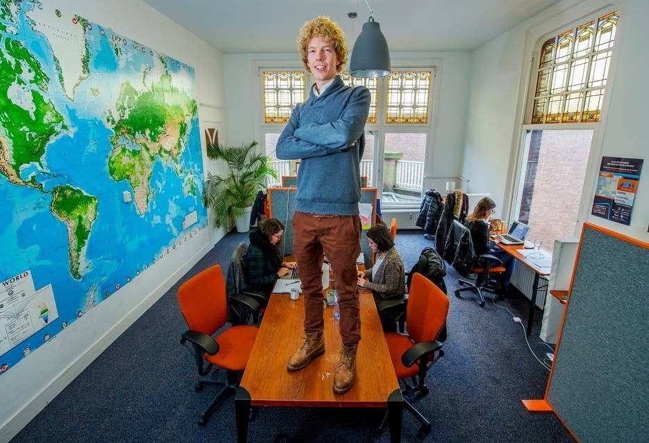 Niels van Deuren oprichter van Housing Anywhere