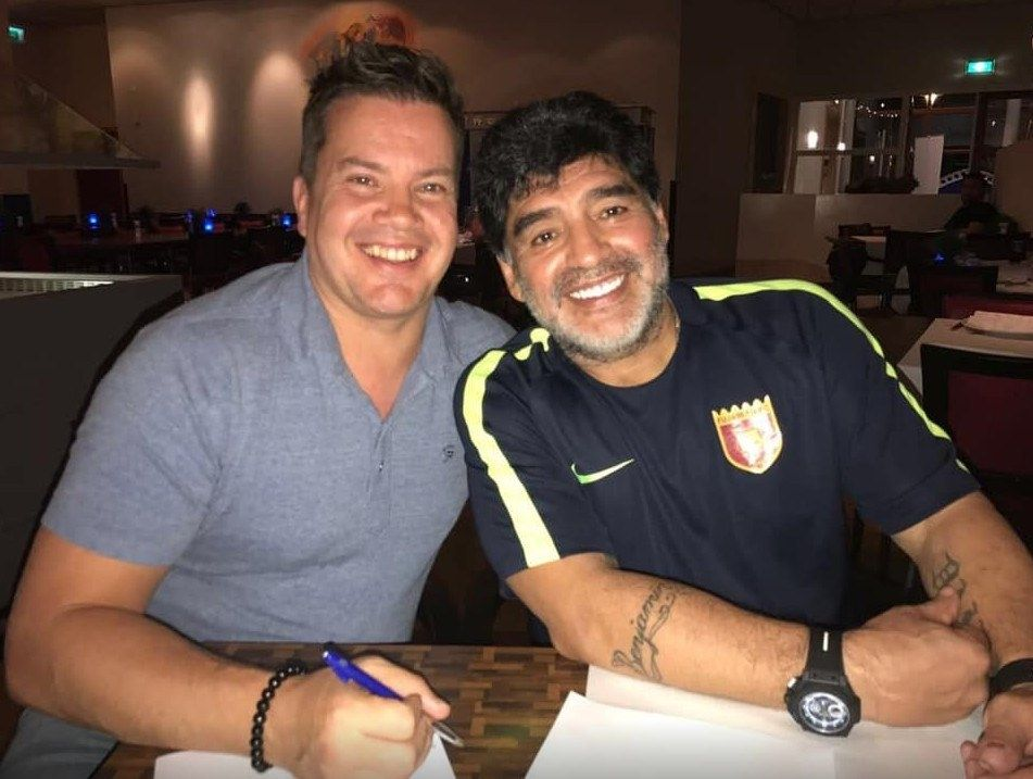 Bob van Oosterhout Maradona tripledouble