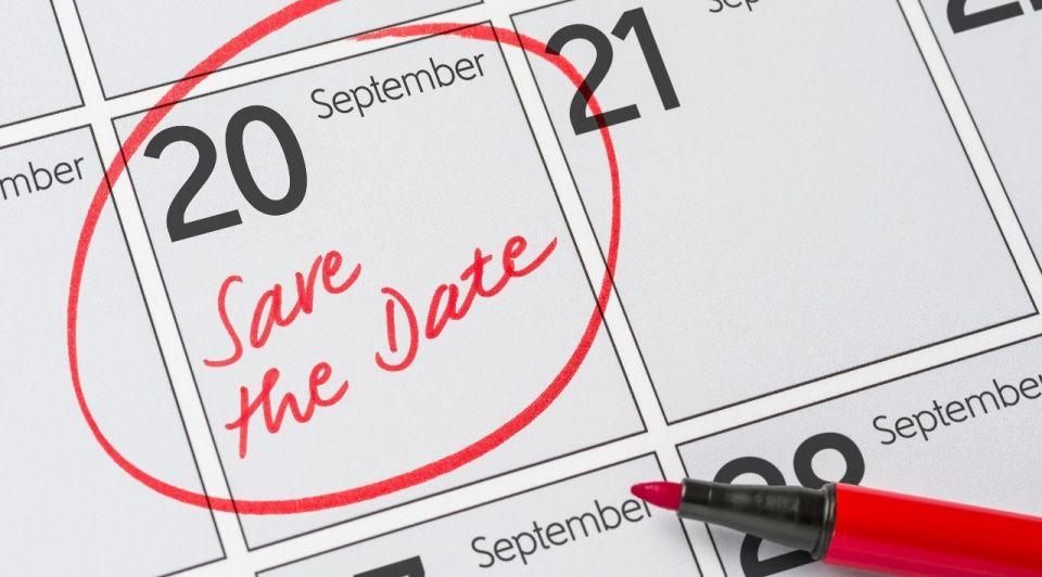 20 september kalender