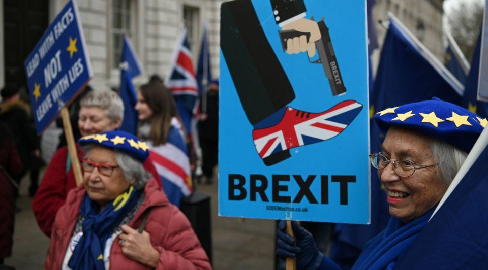 Anti Brexit demonstratie