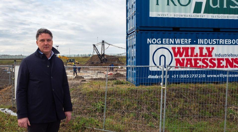 Arjan van de Graaf Prohuis Willy Naessens bouw 2021