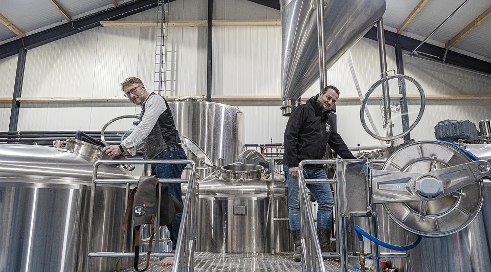 Arnoud Boonstra Roland Boschman bier
