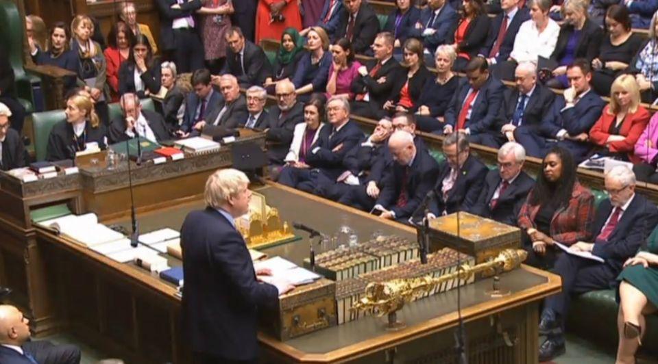 Boris Johnson Lagerhuis winnaar