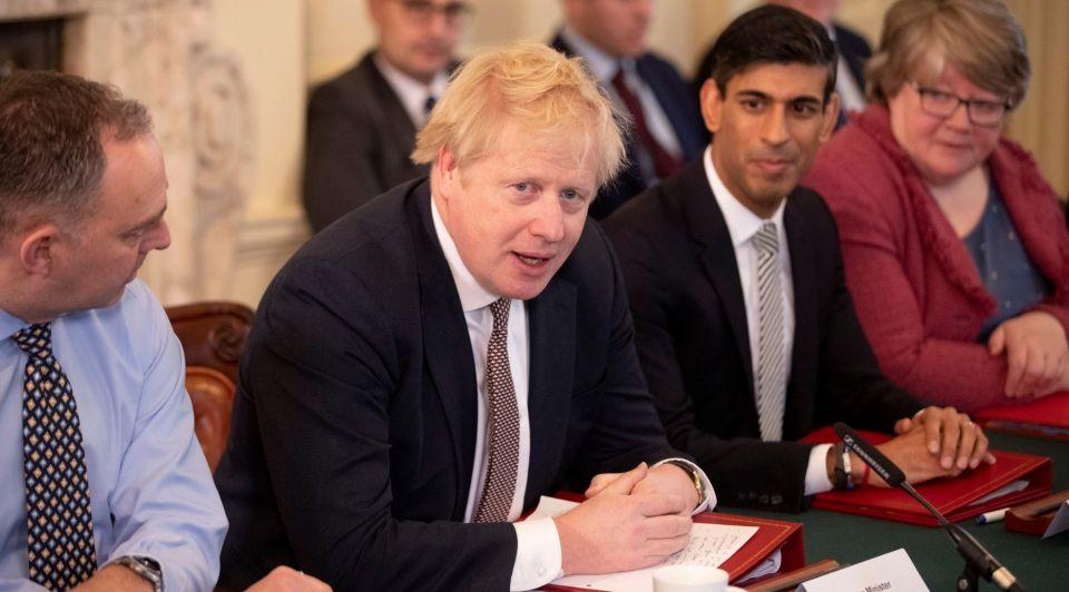 Brexit Boris Johnson Rishi Sunak Chino