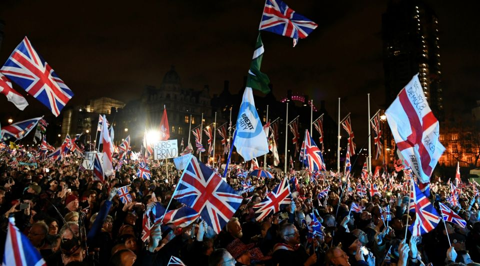 Brexit Parliament Square
